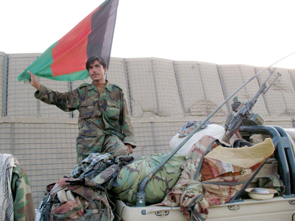 2009 Afghanistan soldato afghano