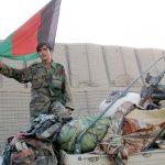 Al fronte con le truppe afghane