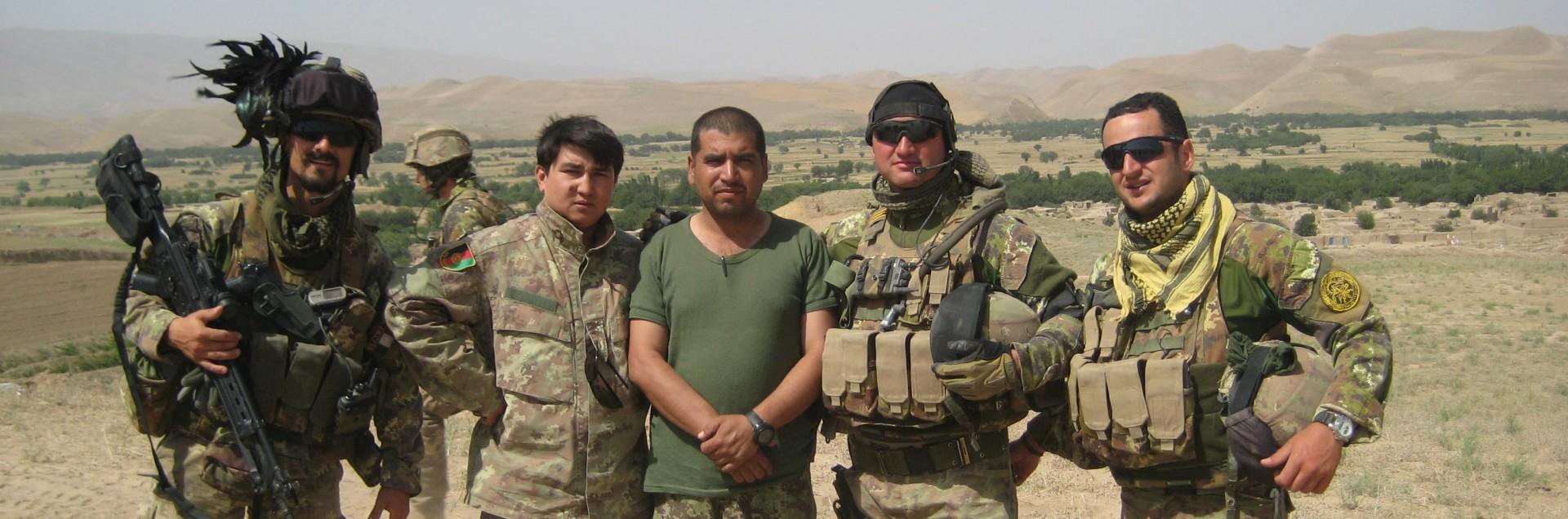 Dall'Afghanistan all'Italia per sfuggire dai talebani