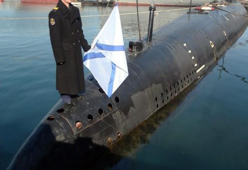 Il sottomarino 'Zaporozhye' ANSA /SERGEI ILNITSKY