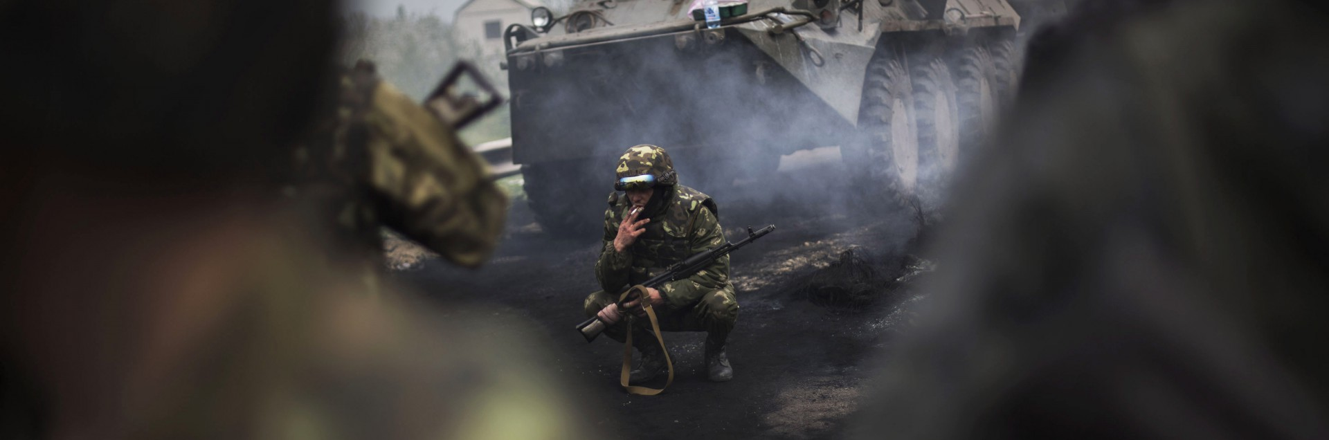 Elicotteri colpiti, in Ucraina è guerra