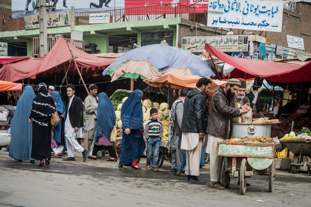 02 November 2015 - Kabul, Afghanistan. Daily life scene. The country is facing a pivotal period in its history as International armies such as US and Italy decided not to leave the country but to prolong the ongoing war against Talibans in support of the Afghan official Government.