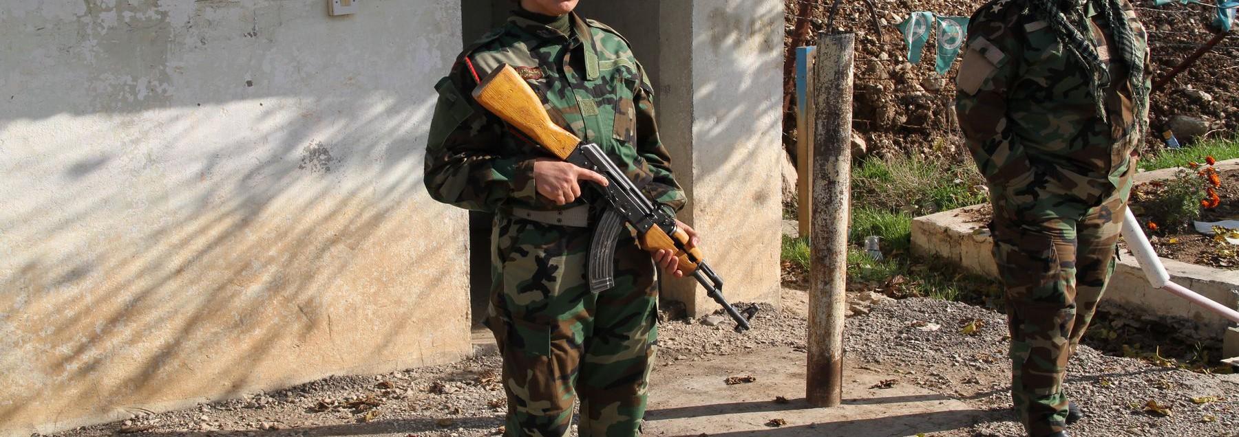 Le donne Peshmerga contro l'Isis