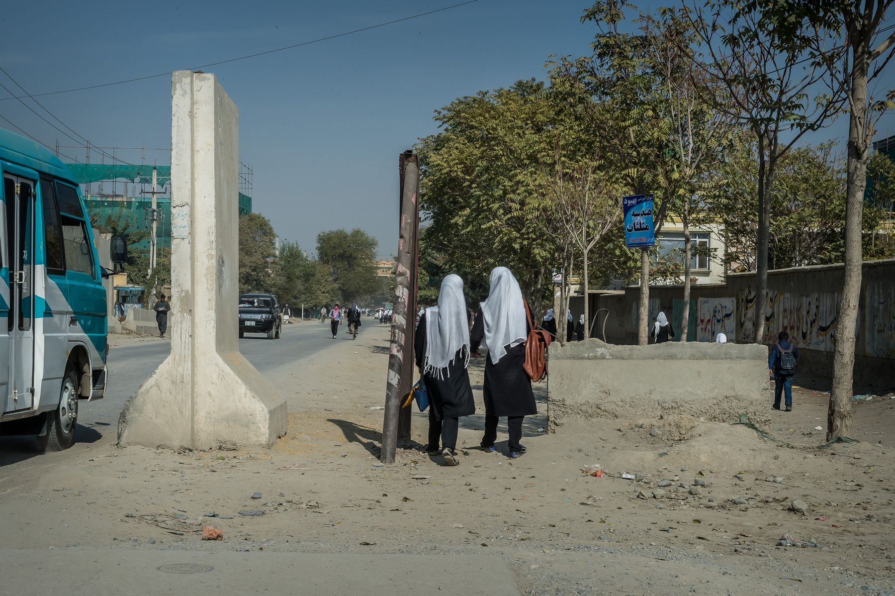 31 October 2015 - Kabul, Afghanistan. Daily life in the capital. The country is facing a pivotal period in its history as International armies such as US and Italy decided not to leave the country but to prolong the ongoing war against Talibans in support of the Afghan official Government.
