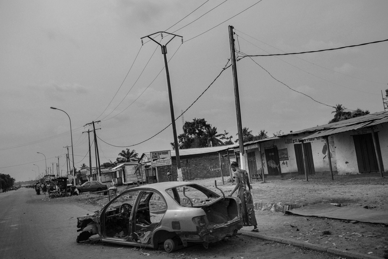 Pk5 (Punto chilometrico, ovvero la distanza dal centro), nome del quartiere di Bangui in cui si si è rifugiata la comunità mussulmana della capitale. Oggi circa 2000 mussulmani vivono all'interno di quello che è diventato un ghetto, come in una prigione a cielo aperto. Chiunque tenti di uscire dal quartiere diviene facile bersaglio delle milizie Anti-Balaka.