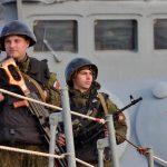 Sulle navi russe <br>in Siria