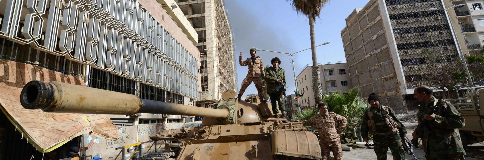Libia, 7 febbraio: la grande paura