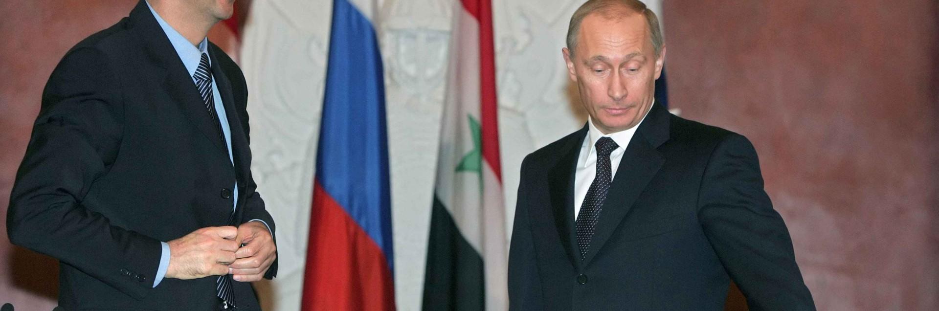 """La promessa di Putin: """"Assad non perderà"""""""