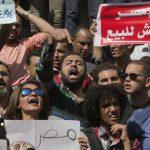 La sorte di due isole porta l'Egitto in piazza
