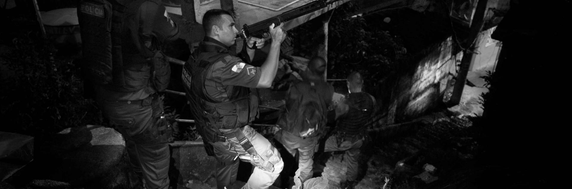 Nelle favelas è tolleranza zero