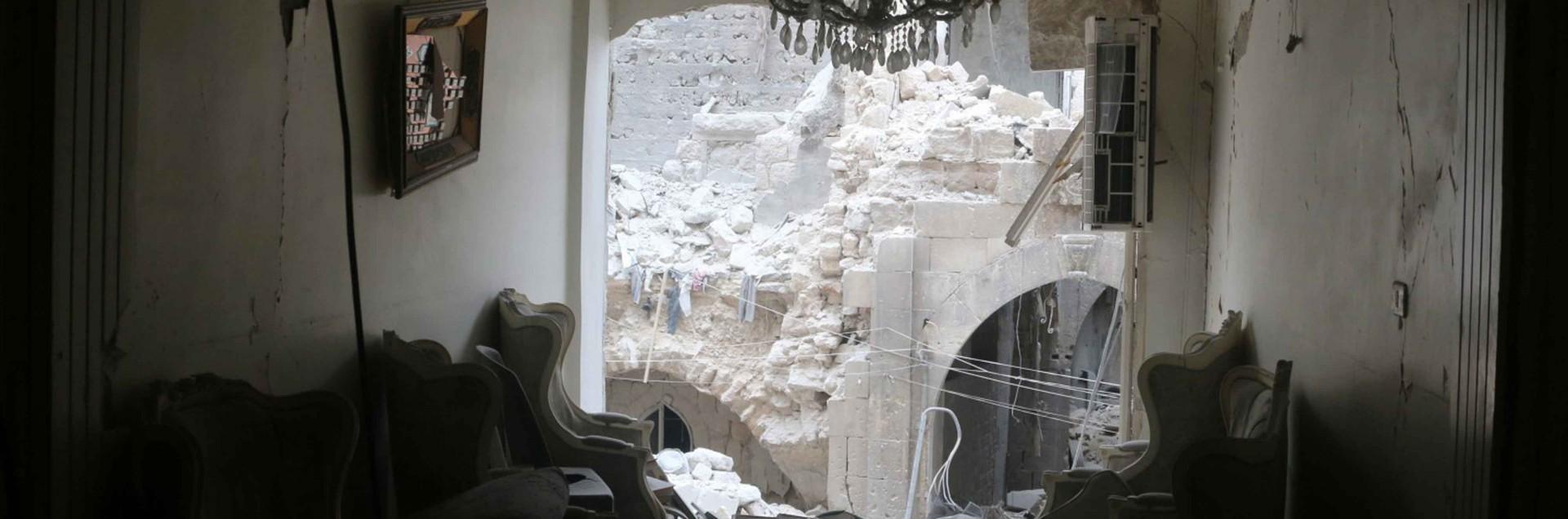 Tra le bombe di Aleppo