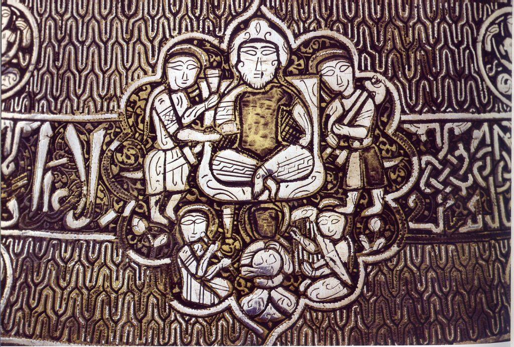 detail of Mamlouk candlestick