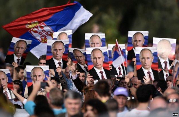 serbia Putin