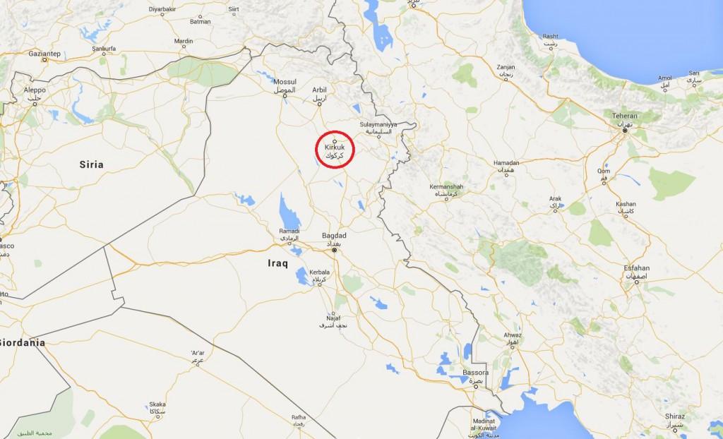 A marzo 2016 la città di Kirkuk, nel nord dell'Iraq, ha subito due attacchi chimici - che hanno provocato la morte di una bambina di tre anni e il ferimento di oltre 600 persone - da parte dei miliziani del sedicente Stato islamico.