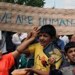 La vita dei bimbi nei campi profughi
