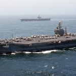 Portaerei Usa nel Mediterraneo