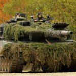 Carri armati tedeschi al confine russo