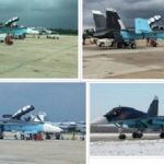 F18 Usa dipinti come Sukhoi russi