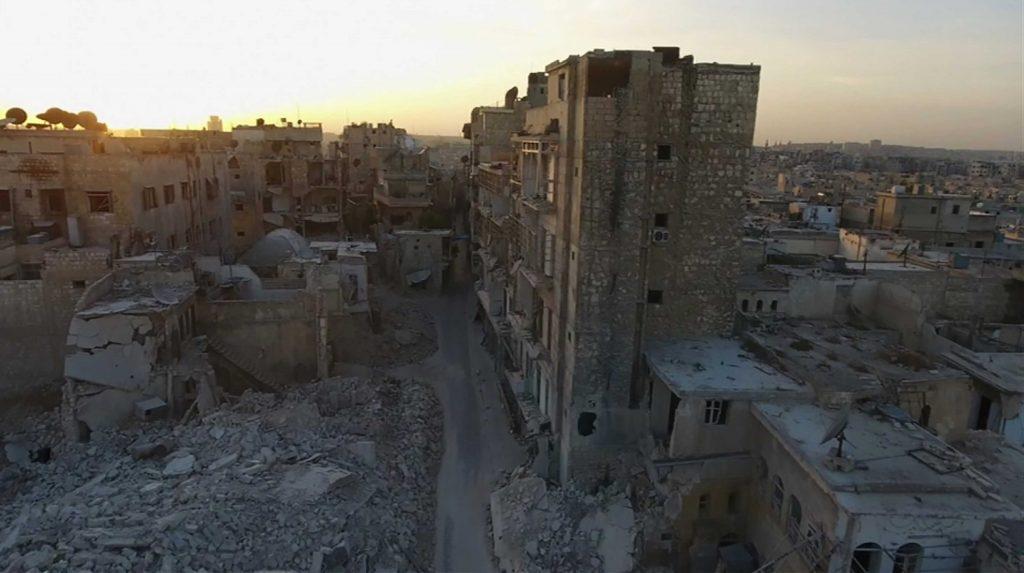 La devastazione di Aleppo