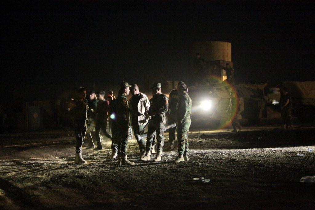Peshmerga a est di Mosul si preparano per l'attacco - REUTERS/Azad Lashkari