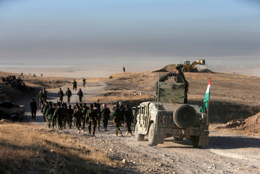 Peshmerga avanzano a est di Mosul - REUTERS/Azad Lashkari