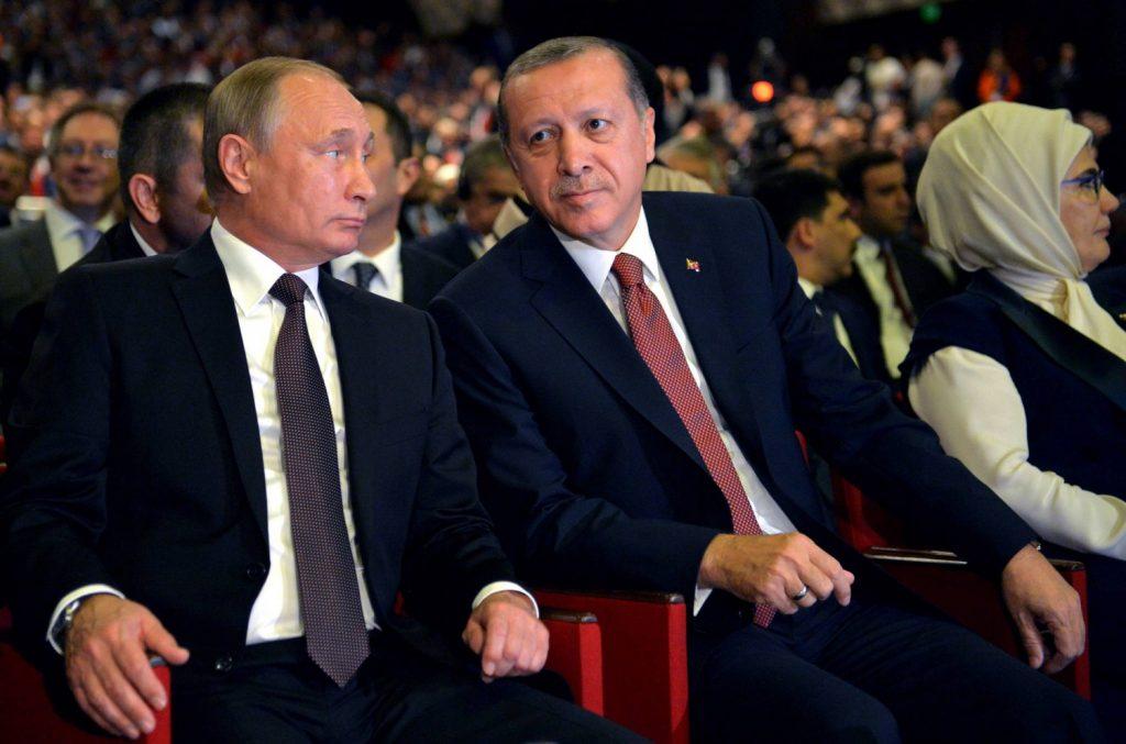 Erdogan e Putin a San Pietroburgo