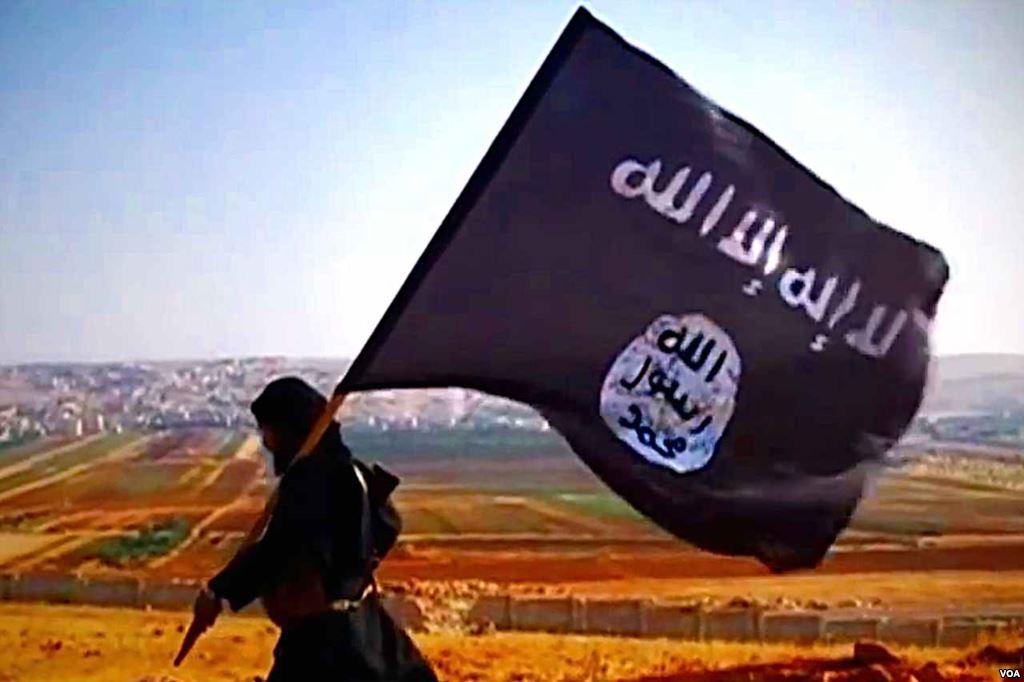 İD_bayrağı_ile_bir_militan