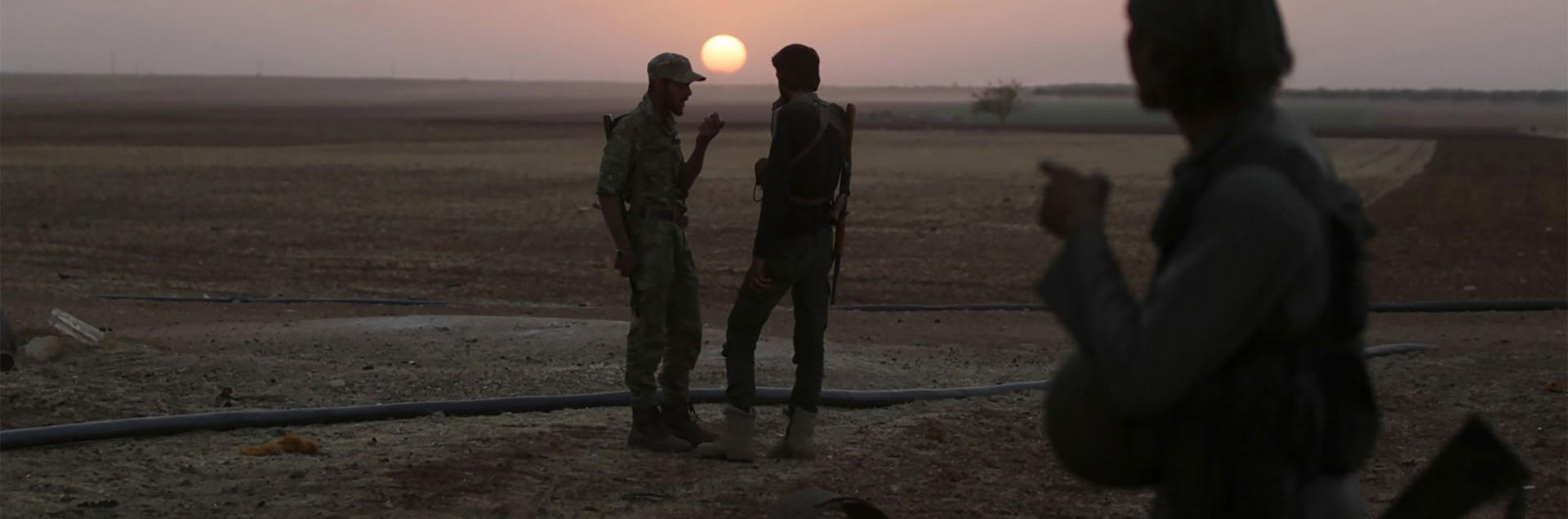 La città martire assediata dall'Isis