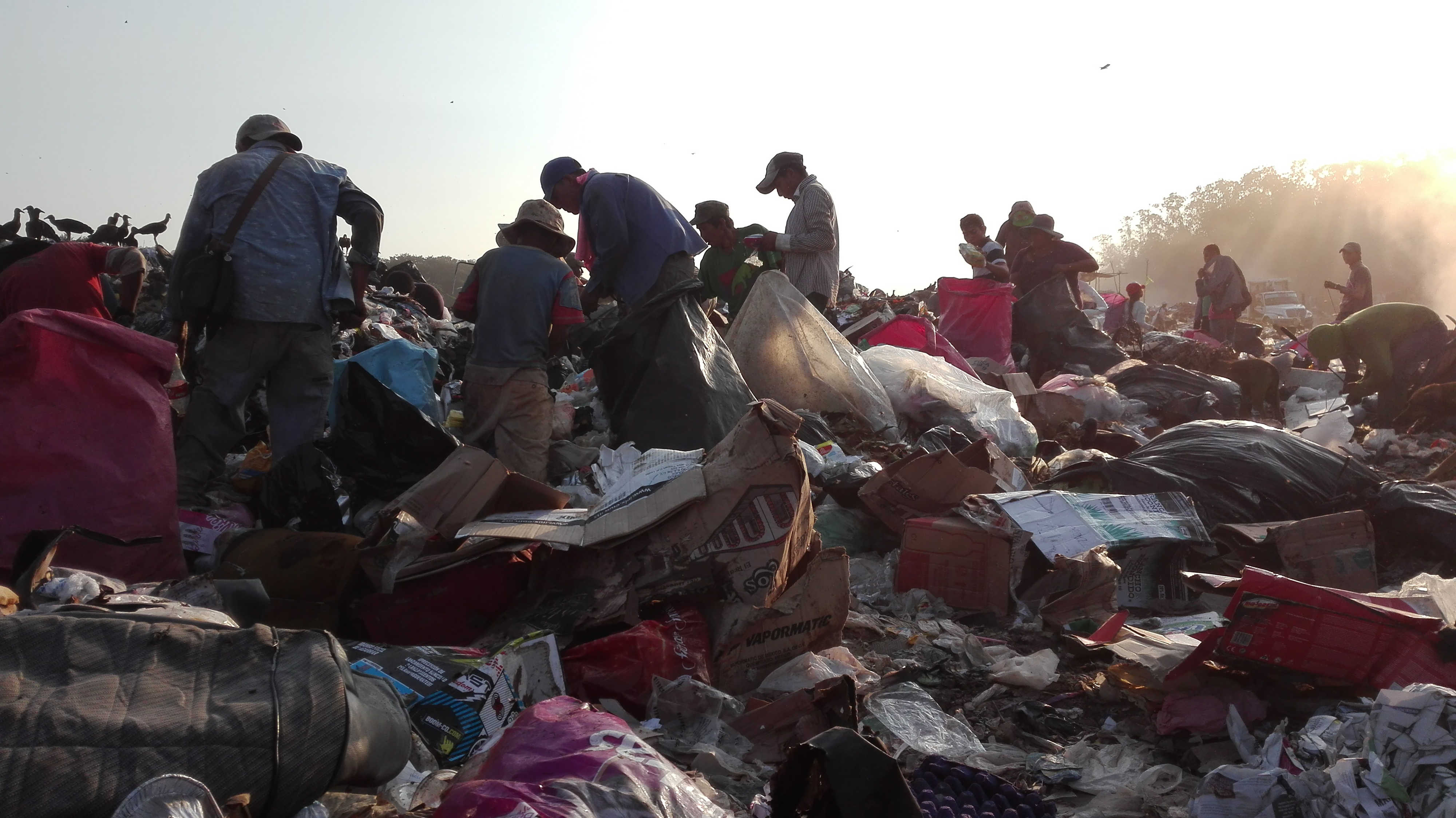 Risultati immagini per discarica di Tapachula