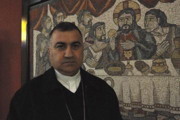 Mons. Bashar Warda arcivsecovo di Erbil DSC_0226