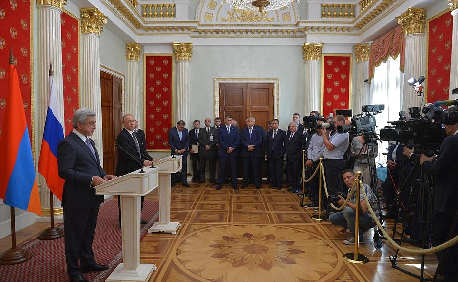 Putin Armenia