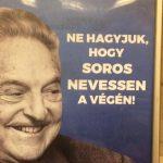 Manifesti contro Soros in Ungheria