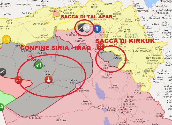 Cartina Iraq.Iraq La Guerra All Isis Non E Finita Insideover