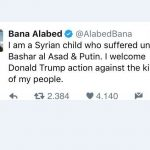 The truth about Bana, the girl of Aleppo