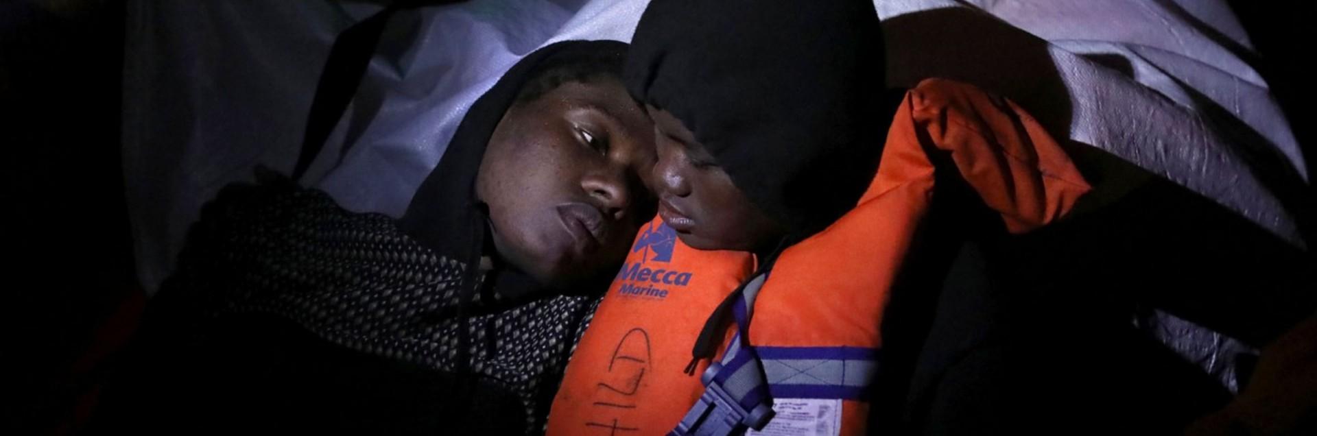 Migranti che tornano a casa