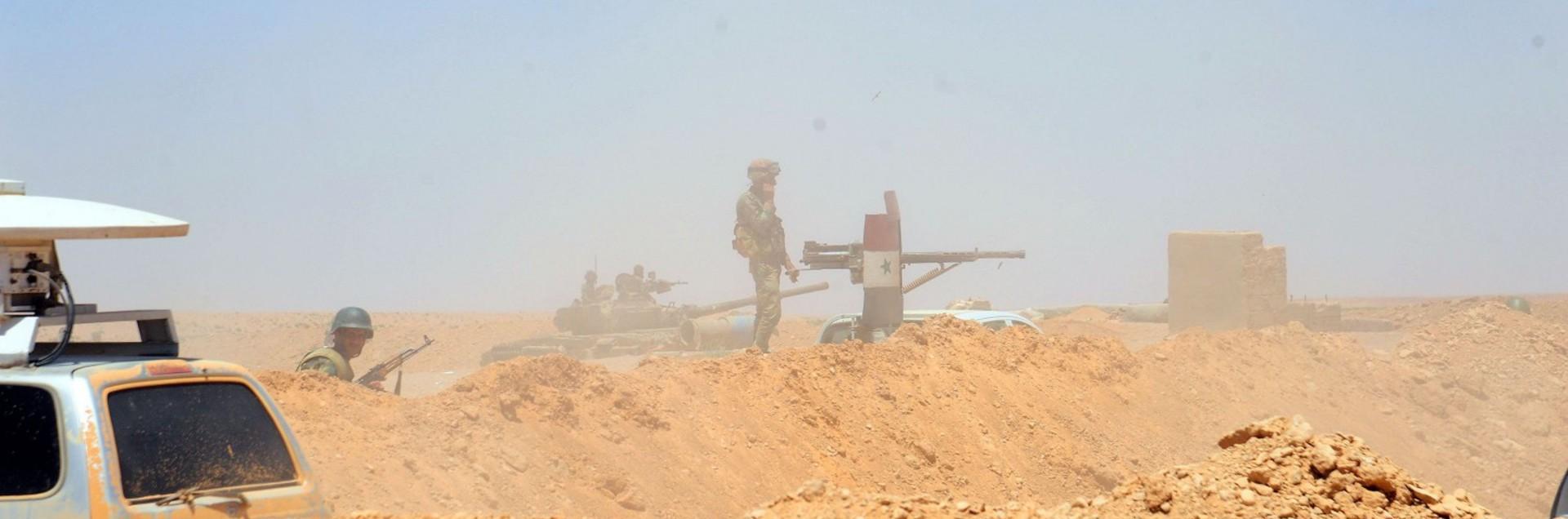 L'esercito avanza verso Deir Ez Zour