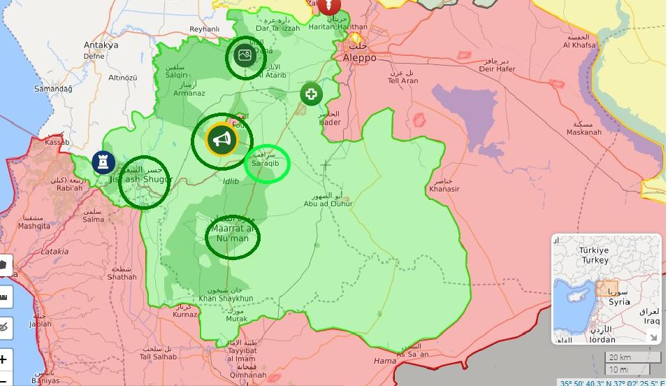 Situazione Idlib