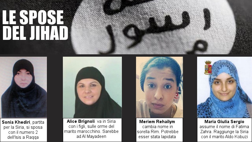 donne jihad isis