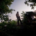 Nelle trincee di Donetsk