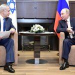 """Netanyahu avverte Putin: <br> """"L'Iran minaccia il mondo"""""""