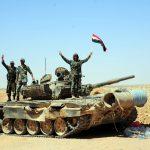 L'esercito siriano attraversa <br> le sponde del fiume Eufrate