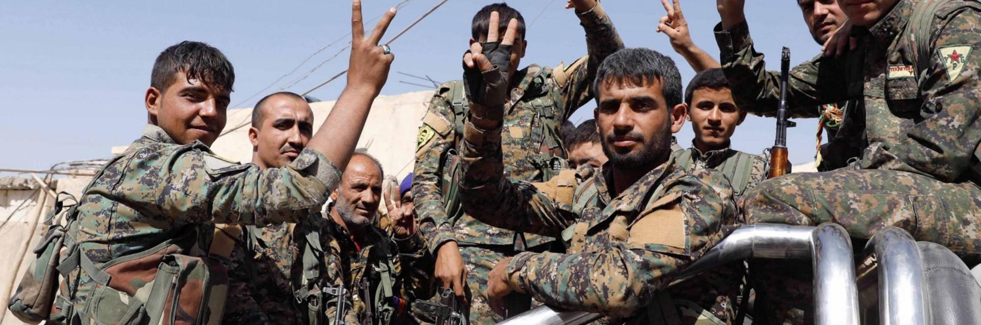Colpo mortale per il Califfato: <br> i curdi hanno liberato Raqqa