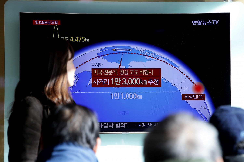 Missile Corea del Nord Hs-15