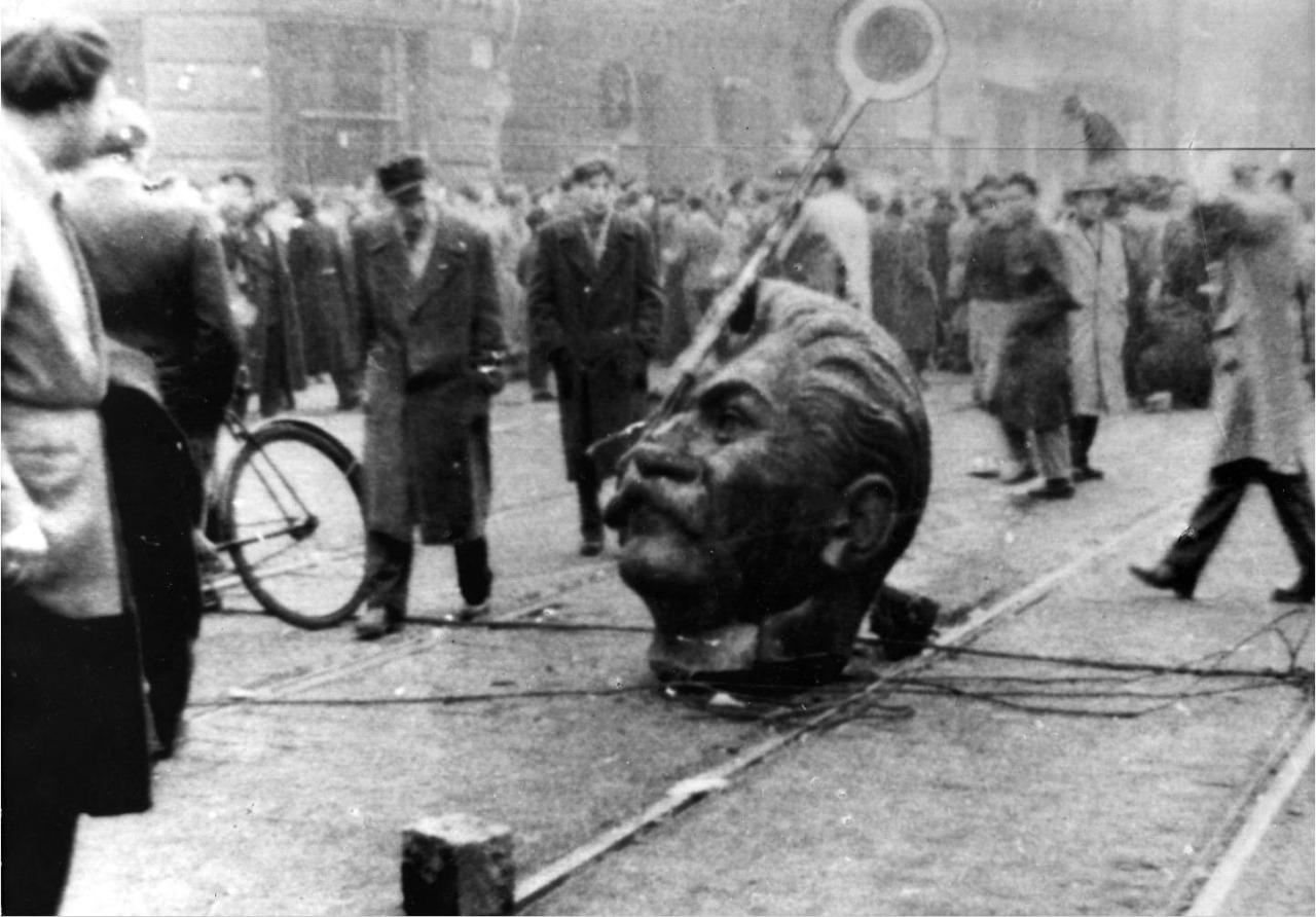 1956_Gabor_B._Racz_(red_circle)_Hungarian_Revolution