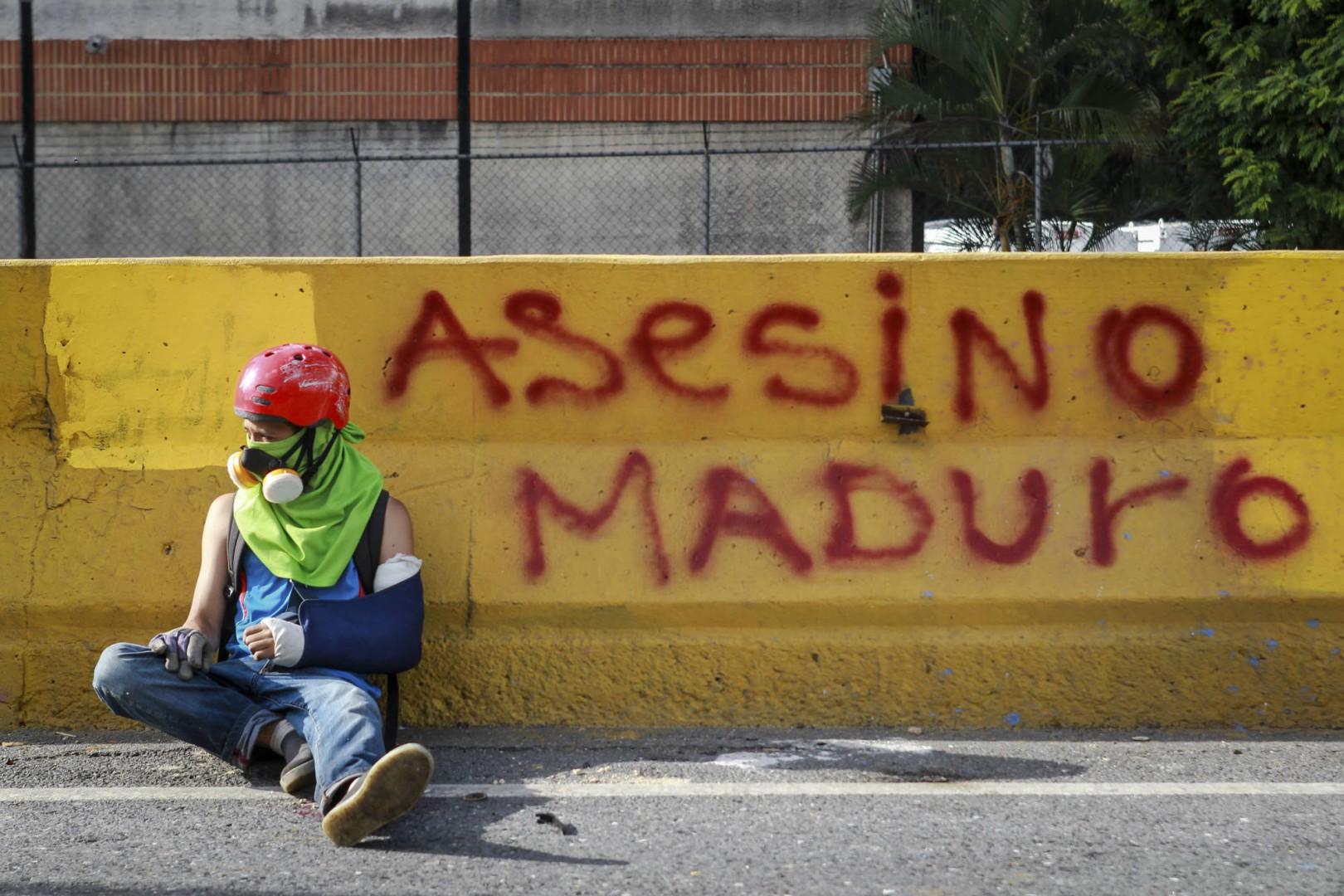 Proteste in Venezuela - ELYXANDRO CEGARRA VIA ZUMA WIRE