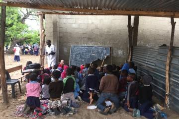 Scuola in Mozambico