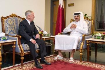 Mattis in Qatar