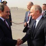 Putin in Egitto per incontrare al Sisi <br> e rilanciare la cooperazione bilaterale