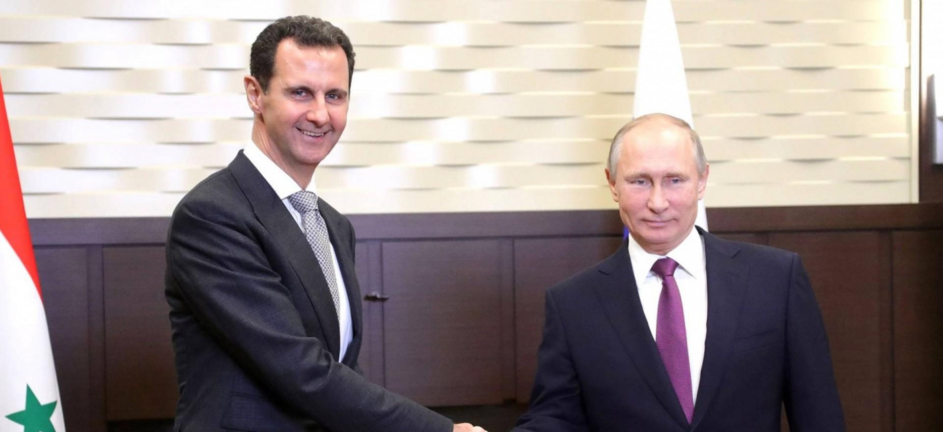 Putin e Assad