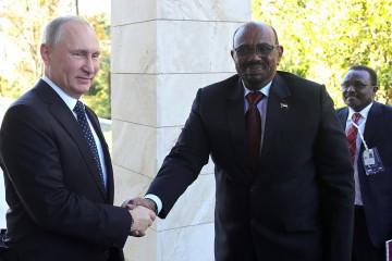 Putin al-Bashir